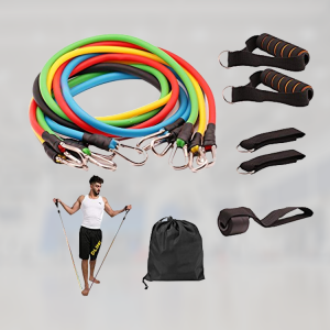 Gym Resistance Bands including Door Anchor & small Bag