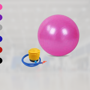 Stability Pilates Ball Exercises With Air Pump