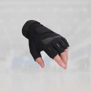 fingerless gym gloves