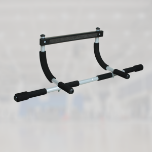 iron door gym pull up bar