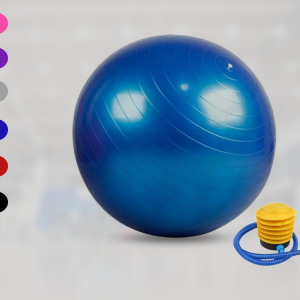 كرة اليوجا للياقة البدنية مع مضخة هواء